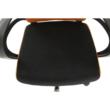 Irodai szék, narancssárga/fekete, LIZBON 5
