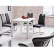 Étkezőasztal, fehér magasfényű HG, ASPER NEW TYP 3 3