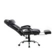 Irodai szék, fekete textilbőr, ARNAUD NEW 2