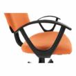 Irodai szék, narancssárga/fekete, TAMSON 1