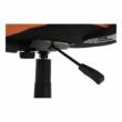 Irodai szék, narancssárga/fekete, TAMSON 4