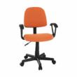 Irodai szék, narancssárga/fekete, TAMSON 5