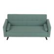 Kinyitható kanapé, zöld-mentol szövet, OTISA 4