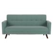 Kinyitható kanapé, zöld-mentol szövet, OTISA 5