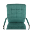 Irodai szék, ciánzöld, MORGEN 1