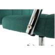 Irodai szék, ciánzöld, MORGEN 3