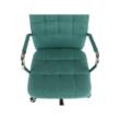 Irodai szék, ciánzöld, MORGEN 4