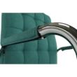 Irodai szék, ciánzöld, MORGEN 5