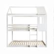 Montessori emeleteságy, fehér, 90x200, ATRISA 5