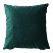 Kinyitható kanapé, zöld szövet, COLUMBUS 4