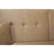 Kinyitható kanapé, arany-bézs szövet, COLUMBUS 4