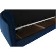 Kinyitható kanapé, kék szövet, COLUMBUS 4
