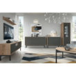 Étkezőasztal, tölgy jaskson hickory/grafit, BERGEN BL140 3