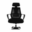 Irodai szék, fekete szövet, TAXIS 2