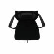 Irodai szék, fekete szövet, TAXIS 3