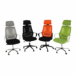 Irodai szék, szürke/fekete/fehér, TAXIS 3