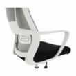 Irodai szék, szürke/fekete/fehér, TAXIS 4