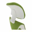 Irodai szék, zöld/fehér, TAXIS 2