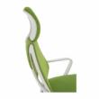 Irodai szék, zöld/fehér, TAXIS 4