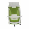 Irodai szék, zöld/fehér, TAXIS 5