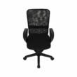 Irodai szék, fekete, REMO 2 NEW 4