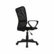 Irodai szék, fekete, REMO 2 NEW 5