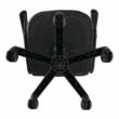 Irodai szék, textilbőr fekete/narancssárga, MADAN NEW 5