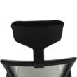 Irodai szék, világosszürke/fekete, DAKIN 1