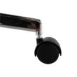 Irodai szék, világosszürke/fekete, DAKIN 4