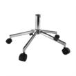 Irodai szék, világosszürke/fekete, DAKIN 5