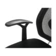 Irodai szék, fekete/króm, IZAURA 5