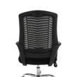 Irodai szék, fekete/króm, IMELA TYP 2 1