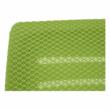 Irodai szék, zöld/fekete/fehér/króm, OZELA 1