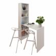 Többfunkciós íróasztal, fehér, JASMIN 3