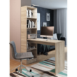 Többfunkciós íróasztal, tölgy sonoma, JASMIN 2