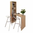 Többfunkciós íróasztal, tölgy sonoma, JASMIN 3