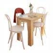 Étkezőasztal, sonoma tölgy, 86x60 cm,  TARINIO 1