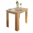 Étkezőasztal, sonoma tölgy, 86x60 cm,  TARINIO 2