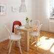 Étkezőasztal, sonoma tölgy, 86x60 cm,  TARINIO 4