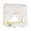 Montessori emeletes ágy, fehér, 90x200, ZEFIRE 4