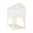 Függöny , fehér anyag, ZEFIRE 1