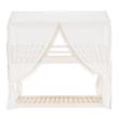 Függöny , fehér anyag, ZEFIRE 2