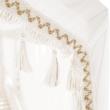 Függöny , fehér anyag, ZEFIRE 5