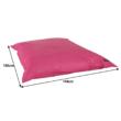 Babzsák, rózsaszín szövet, GETAF 5