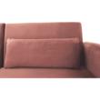 Széthúzhatós kanapé, rózsaszín Velvet anyag/gold króm-arany, HORSTA 2