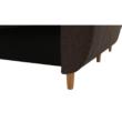 Kanapé ágyfunkcióval, barna, DOREL 5