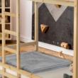 Elemetes ágy, természetes, 90x200, FREYA 3
