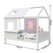 Montessori ágy, fehér, 90x200, BIBIANA 1