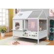 Montessori ágy, fehér, 90x200, BIBIANA 2