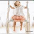 Gyerek hinta, fehér/szürke, SVING 3
